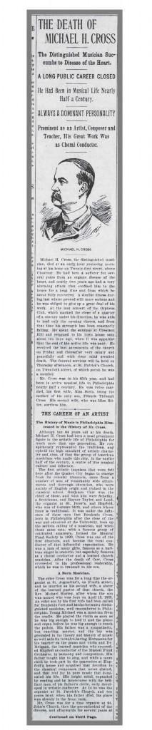 Cross_Obit_page_1_Phila_Times_Sept_27_1897