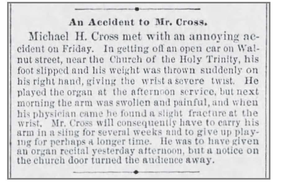 Cross_Article_Broken_Wrist_Phila_Times_May_20_1883