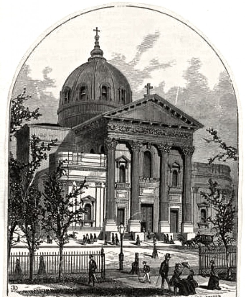 Sketch of cathedral 1872.1